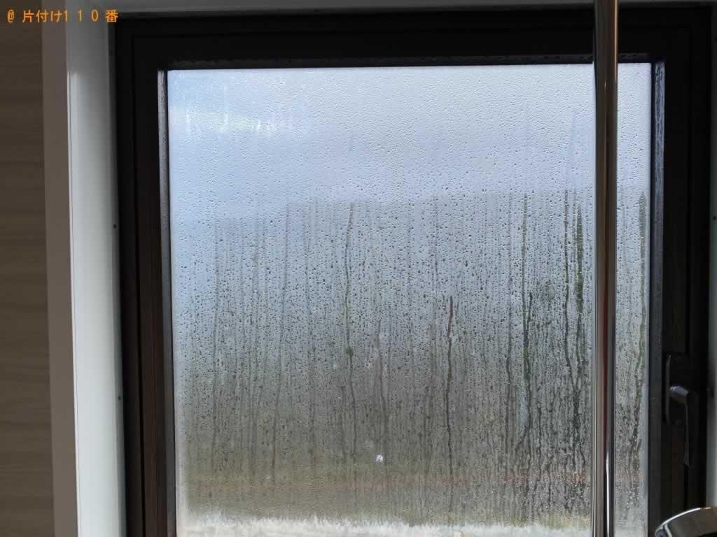 窓ガラス・サッシ・網戸・雨戸掃除サービス施工前