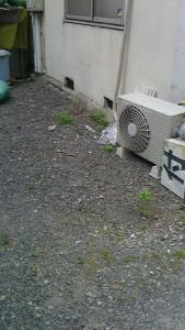 周南市で家電回収のアフター写真