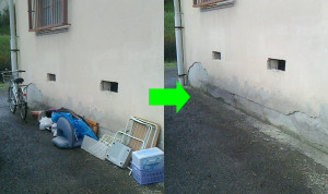 柳井市で座椅子、自転車の写真