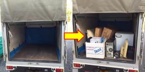 下松市で冷蔵庫、ソファ等回収の写真2
