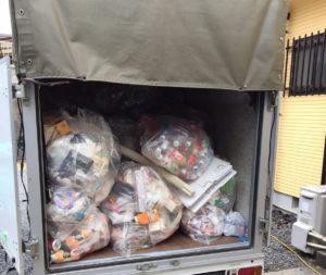 周南市内で、スロット台、家庭ゴミなど回収のお客様4