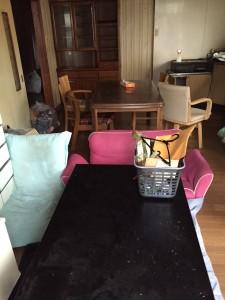 岩国市でタンス、テーブルなど回収 写真1