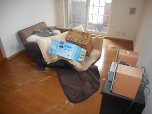 山陽小野田市でパソコン、ベッドなど回収 写真2