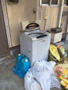 周南市内で、冷蔵庫、タンスなど回収のお客様1