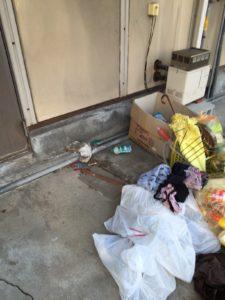 周南市内で、冷蔵庫、タンスなど回収のお客様2
