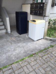 岩国市内で、冷蔵庫、洗濯機など回収のお客様の声3
