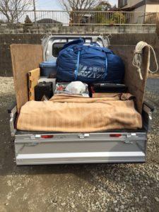 周南市内で、スロット台、家庭ゴミなど回収のお客様2