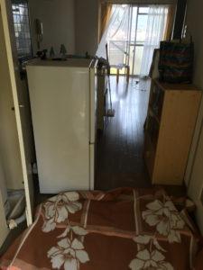 柳井市内で、冷蔵庫、洗濯機など回収のお客様1