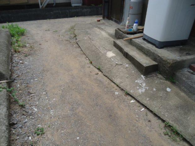 宇部市松山町で少量の不用品回収 施工事例