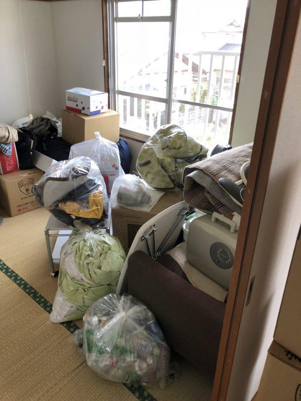 引っ越しでの大量の不用品回収も対応可能!引っ越しシーズンで予約すら取れない業者がほとんどだったが、希望に近い日程で回収に来てくれた、とお喜び頂けました!
