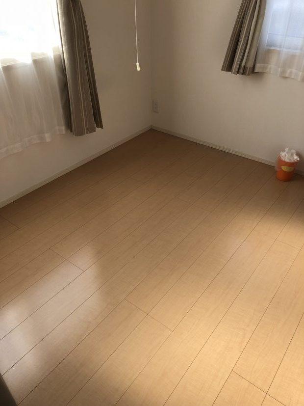 周南市桜木でシングルベッドの回収 施工事例紹介