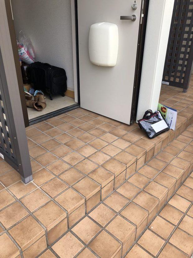 防府市新田で掃除機、カーペット、ゴルフバッグなどの不用品回収 施工事例紹介