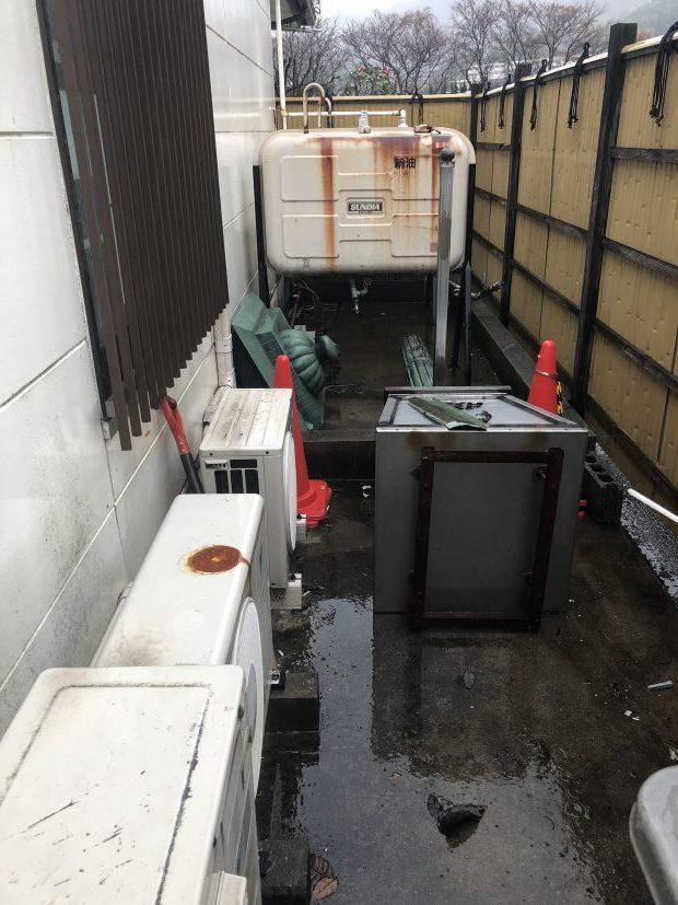 周南市下上で軽トラック1台程度の不用品回収 施工事例紹介