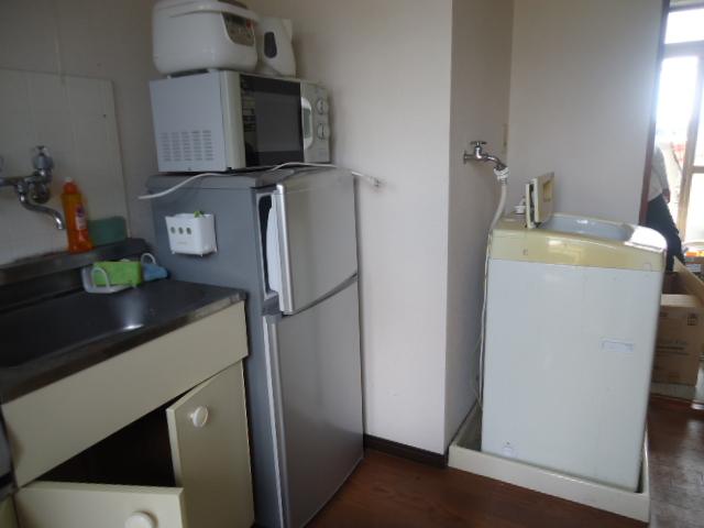 宇部市常盤台で冷蔵庫、洗濯機など軽トラック1台程度の不用品回収 施工事例紹介