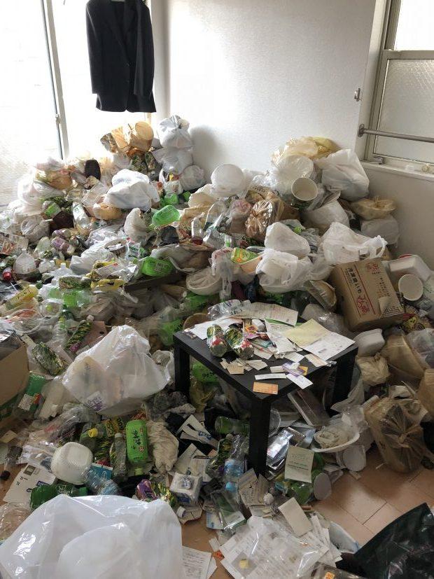 岩国市玖珂町で2トントラック1台分の不用品回収 施工事例紹介