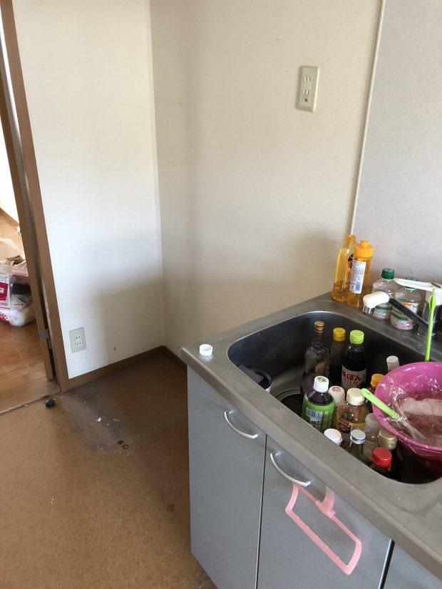 岩国市立石町で自転車、冷蔵庫、電子レンジ、炊飯器などの不用品回収 施工事例紹介