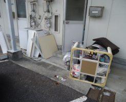 宇部市中村で冷蔵庫、洗濯機、テレビなどの不用品回収 施工事例紹介