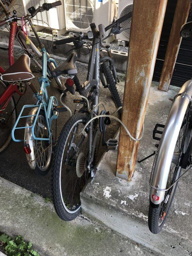 周南市徳山で自転車の回収 施工事例紹介