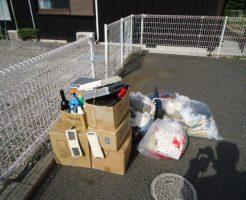 宇部市北琴芝で引っ越しに伴うゴミの回収 施工事例紹介