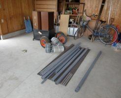 山口市平井でトタン波板、タイヤなどの回収 施工事例紹介