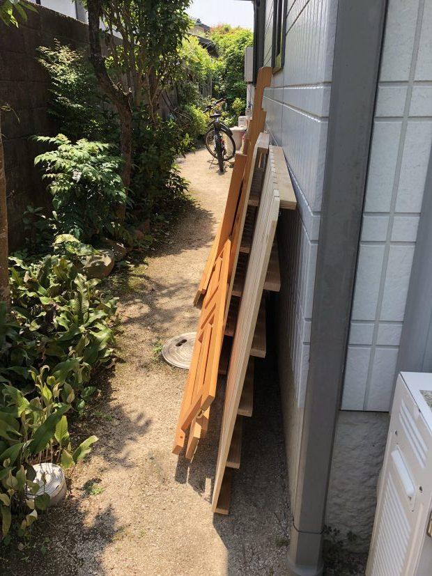山口市後河原で2段ベッド、エレクトーン、学習机の不用品回収 施工事例紹介