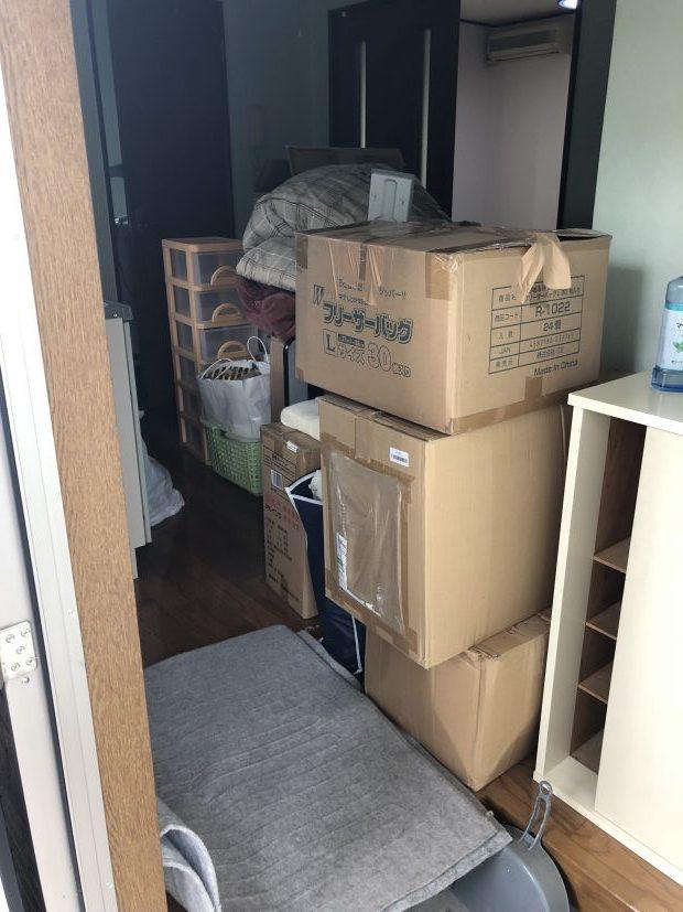 岩国市黒磯町で引っ越しに伴う不要品の回収 施工事例紹介