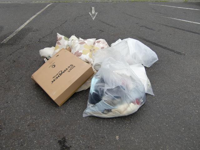 宇部市西岐波で布団など引っ越しに伴う不要品の回収 施工事例紹介