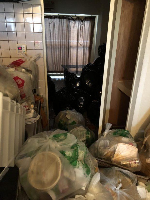 岩国市麻里布町で引っ越しに伴うごみの回収とハウスクリーニング 施工事例紹介