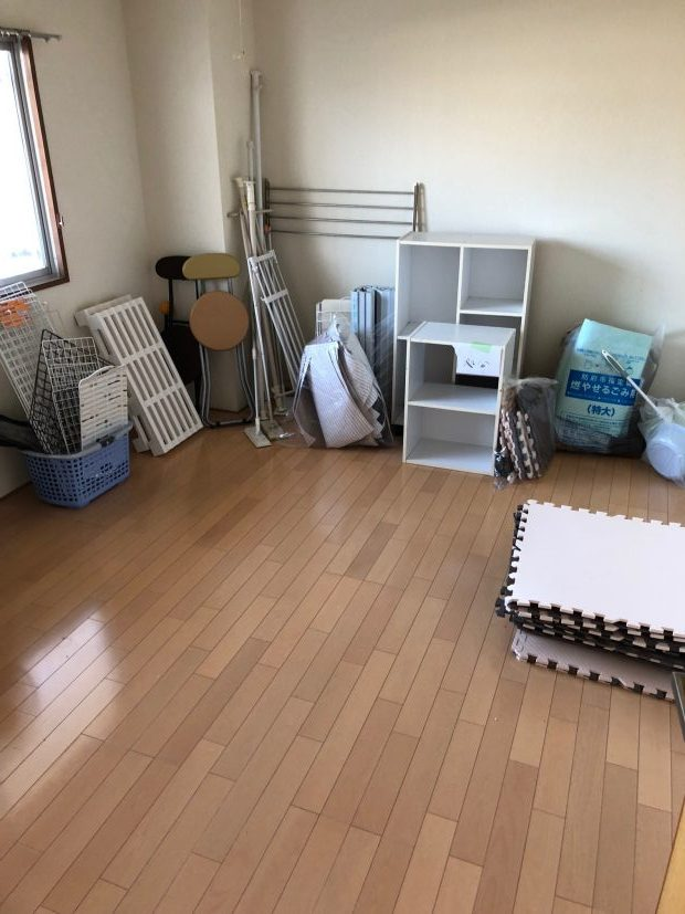 ご希望の日程で対応☆引っ越しで出た不用品をまとめて回収いたしました。