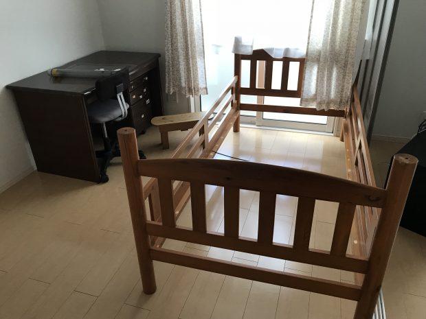 使わなくなった家具の回収を行いました!