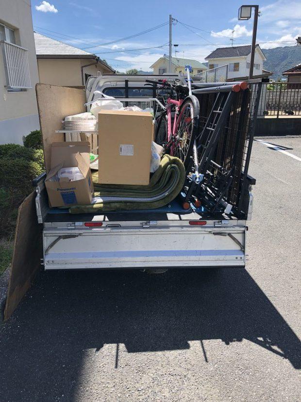 【平泉町】家具・家電のほかに、日ごろ出せなかった家庭ごみもまとめて処分することができ、喜んでいただけました。