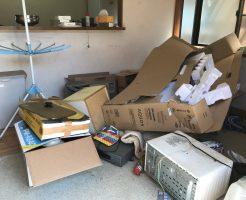 引っ越しに伴う大量の不用品を回収いたしました!