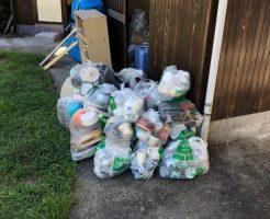 ご自宅の片付けで出た大量の不用品を即日回収!お問い合わせから回収までの迅速な対応に大変お喜びいただけました!