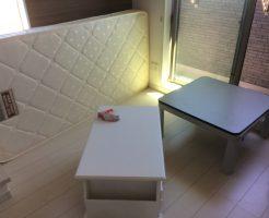 処分に困っていた大型家具を、電話ひとつで即日回収!素早い対応に満足していただけました。