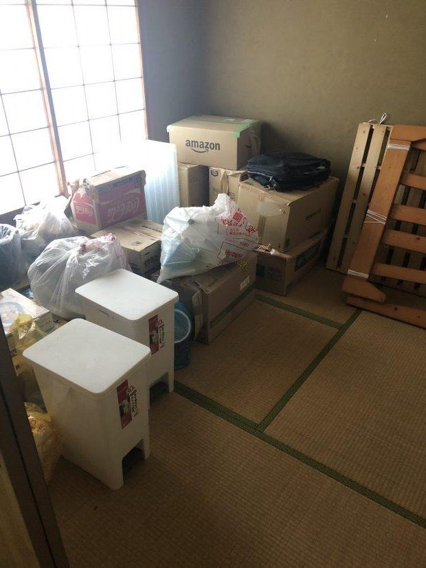 【周南市新堤町】軽トラック1台程度の不用品回収☆ご希望の日程での対応にご満足いただけました。