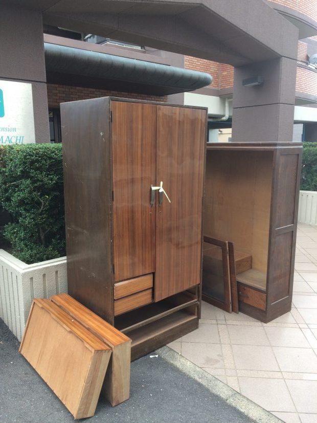 【中津川市】遺品整理にあたりタンスなど家財道具の回収