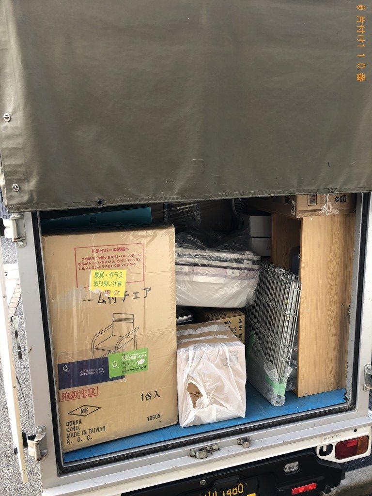 【下松市清瀬町】引越しにともない6畳部屋いっぱい分の不用品回収ご希望のお客様の声