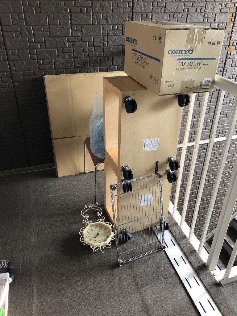 【陸前高田市】引越しにともない6畳部屋いっぱい分の不用品回収ご希望のお客様の声