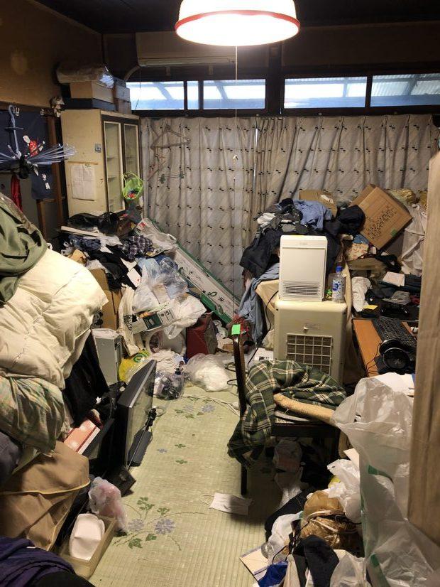 【周南市徳山】2階建て一軒家のお片付け☆物であふれてしまっていたお部屋がきれいに片付き、お喜びいただけました!