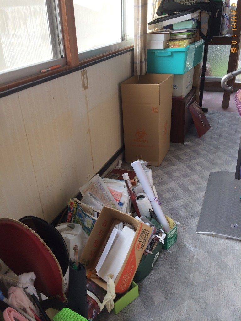 【宇部市】軽トラ1台分の不用品回収(家具、オルガン、ソファー)ご希望のお客様の声