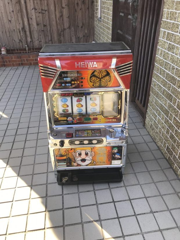 【山陽小野田市】スロット台の回収☆お問い合わせの翌日に処分することができ、素早い対応にご満足いただけました!