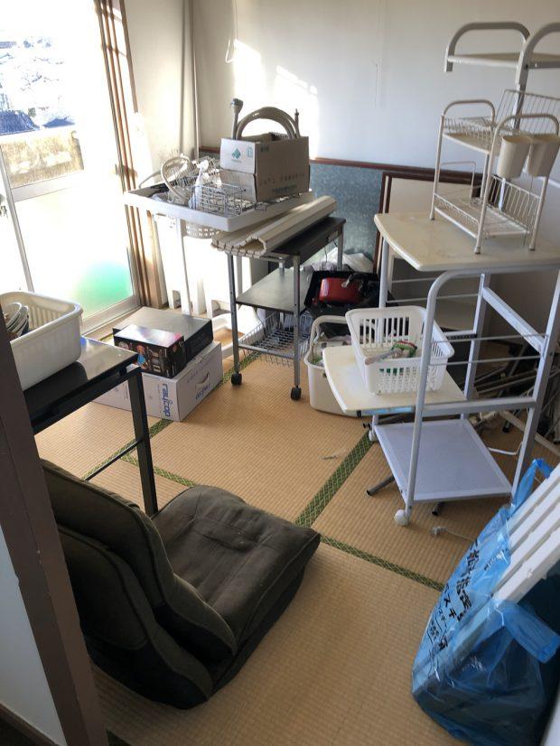 【下松市】お引っ越しに伴う不用品回収☆大きな家具も処分できお喜びいただけました!
