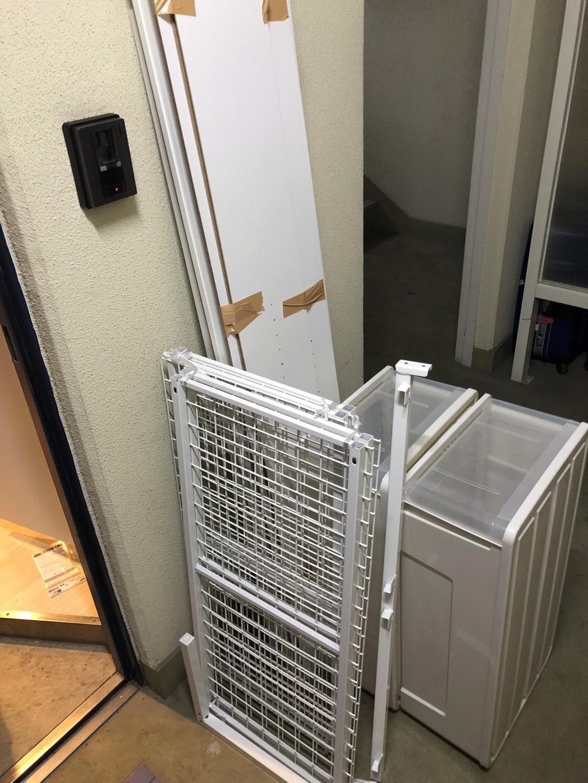 【下関市山の田東町】シングルベッドフレーム、衣装ケース、収納棚などの出張不用品回収・処分ご依頼 お客様の声