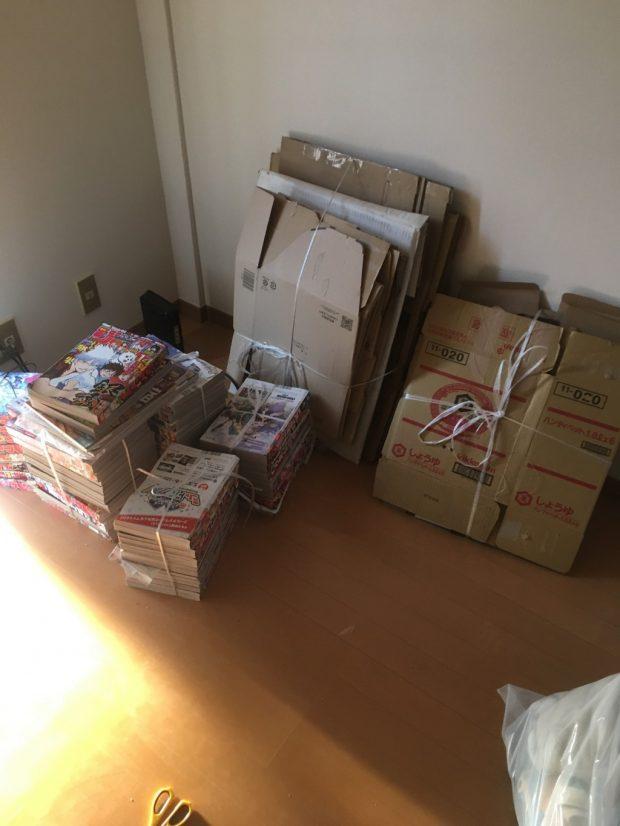 【下関市三河町】電化製品や衣類などお引っ越しに伴う不用品の回収☆一番気になる料金も、事前にしっかりと説明するので安心していただけました!