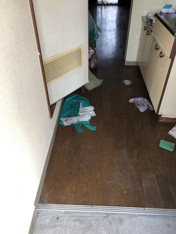 【周南市】洗濯機など軽トラック1台程度の不用品回収☆迅速な対応に大変満足していただきました!