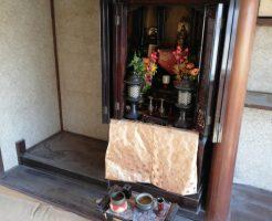 【宇部市】仏壇のご処分と御霊抜きのご依頼☆処分の難しい仏壇がすぐに回収できご満足いただけました!