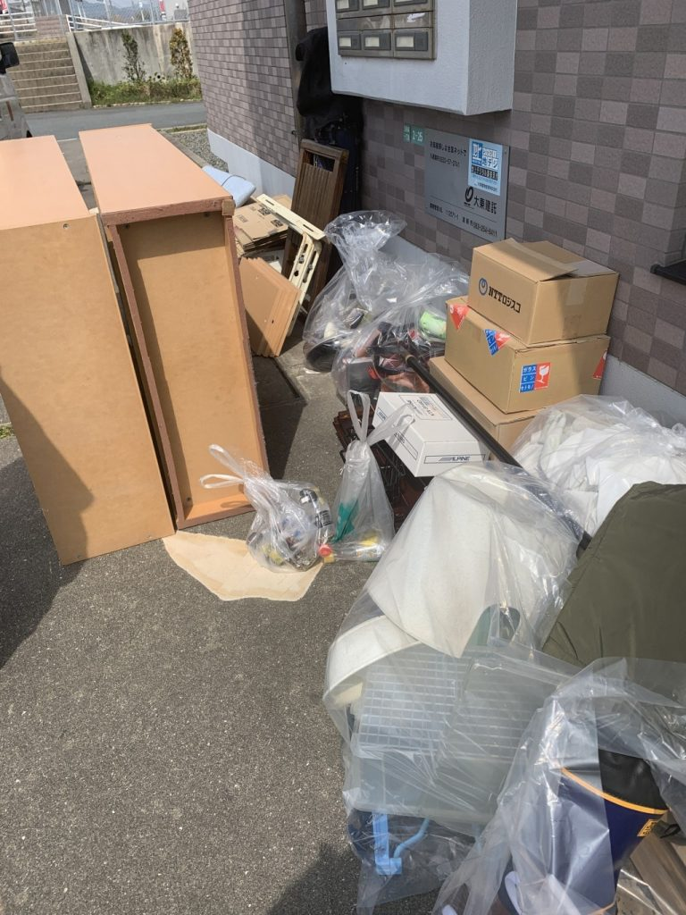 【大間町】軽トラック1台程度の出張不用品回収・処分ご依頼