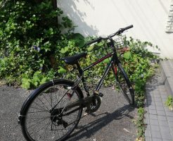 【下関市】自転車一台の回収 お客様の声
