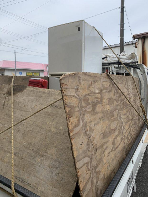 【下関市菊川町】エアコン、冷蔵庫など家財道具の回収 お客様の声