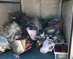 【防府市】衣類、空きビンなどの出張不用品回収・処分ご依頼